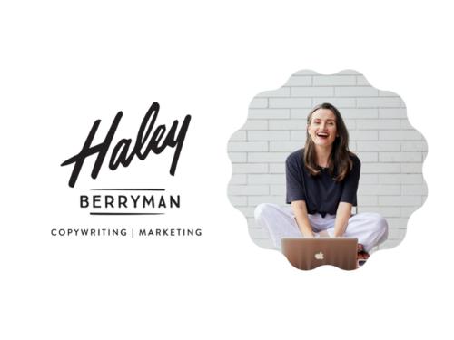 Haley Berryman Copywriting Logo