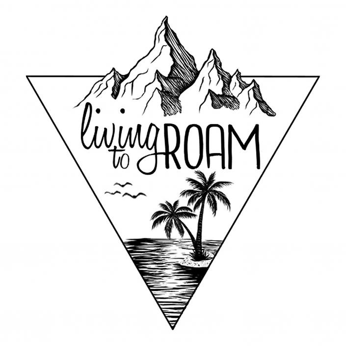 Living to Roam Logo